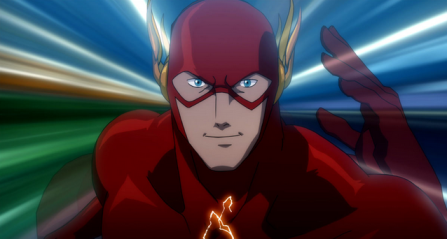 In Flashpoint, Barry runs to the past to stop himself from running to the past to save his mom. Yeah, it's a little out-there. It was great though.